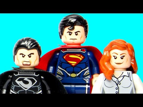 LEGO Superman Black Zero Escape 76009 LEGO Man of Steel DC Super Heroes Review