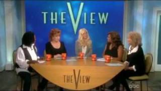 Carrie Fisher - The View [ October 1 2009 ] part 3 / also Amy Brenneman, Heidi Montag