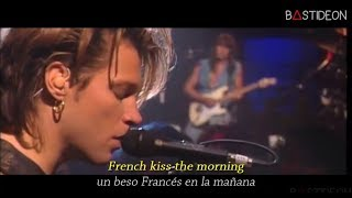 Download Lagu Bon Jovi - Bed Of Roses (Sub Español + Lyrics) Gratis STAFABAND