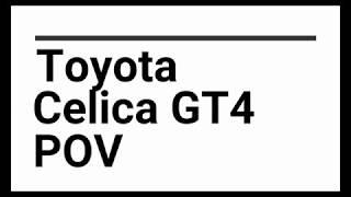 Alaska Ice Racing - POV Go Pro Toyota Celica GT4