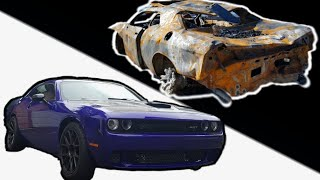 BUILDING A BURNT HELLCAT In MINUTES!
