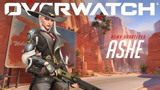 Bohaterowie Overwatch: Ashe (PL)