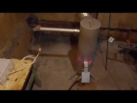 Отопление на отработанном масле видео 141