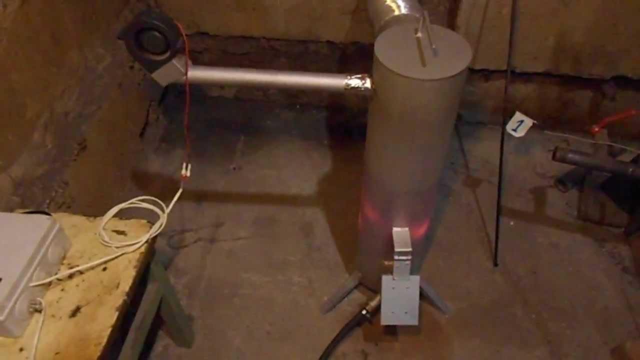 Экономная газовая горелка своими руками