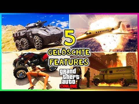 Diese 5 VERGESSENE Features MÜSSEN wieder zu GTA 5 Online HINZUGEFÜGT werden! 5 GELÖSCHTE FEATURES