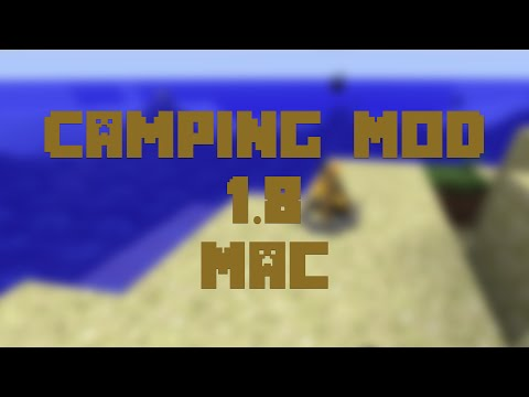 How to Install the Camping Mod for Minecraft 1.8 [Mac]