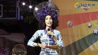 """Lô tô show: Dương Thanh Vàng tự tin khoe giọng hát """"Đất Phương Nam"""" khiến mọi người sững sờ"""
