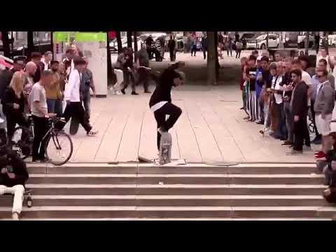 Cash for tricks 💶💰 @daniel.ledermann 📹: @packopack & @paulherrmnn | Shralpin Skateboarding