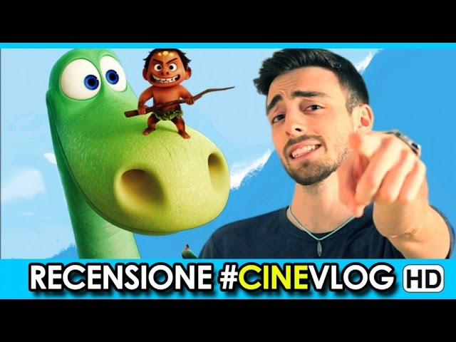 RECENSIONE - THE GOOD DINOSAUR Trailer #CineVlog