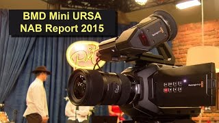 Blackmagic Design URSA mini 4K Camcorder - NAB-Report 2015 in 4K