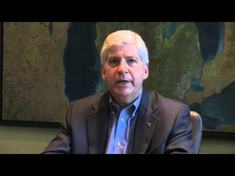 Governor Rick Snyder on Roy Roberts' Retirement