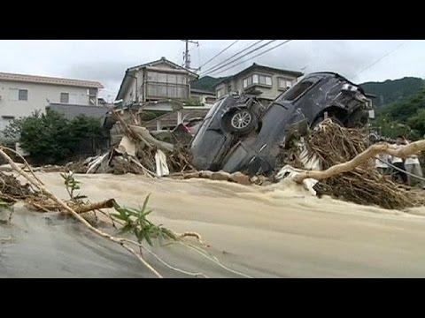 Search continues for survivors after Hiroshima landslides