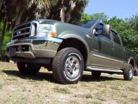 2004 Ford F250 King Ranch FX4 Crew Cab Diesel 4x4