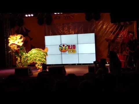 Rio Anime Club 2016 - Dança do Leão - Associação Nikkei RJ
