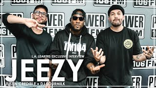 "Jeezy: ""Nipsey Hussle  was on the same path as Tupac, It's bigger than the music."" + TM104 New Music"