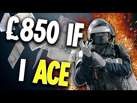 Getting PAID to ACE - Rainbow Six Siege