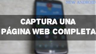 Captura una página Web completa & no 5 screenshot