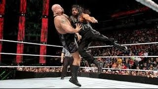 Roman Reigns vs Big Show Last Man Standing FULL Match - WWE Extreme Rules 2015
