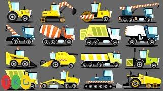 Lắp Ráp Xe Xúc Đất, Ủi Đất & Cần Cẩu, Xe Tải - Xe Hủ Lô - Xe Đổ Rác | TopKidsGames (TKG) 353