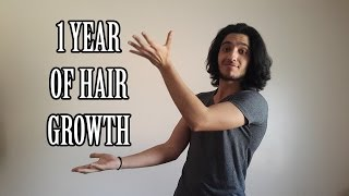 1 YEAR OF HAIR GROWTH - Men