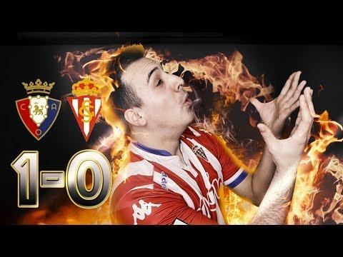 Osasuna 1-0 Sporting de Gijón