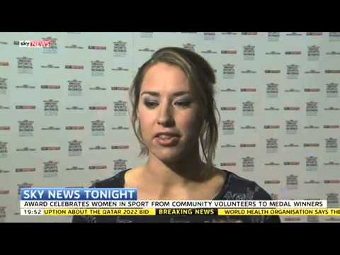 Olympic Skeleton Champion Lizzy Yarnold On Women In Sport
