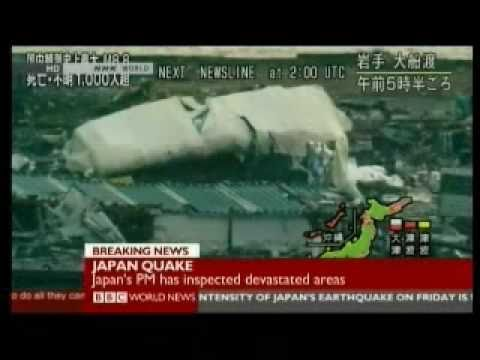 Japan 2011 Earthquake 9 - Rescue & Humanitarian Aid - BBC News Reports
