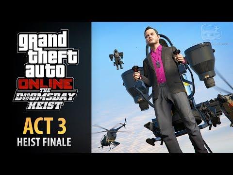 GTA Online: Doomsday Heist Act #3 - The Doomsday Scenario Finale (Elite & Mastermind II)