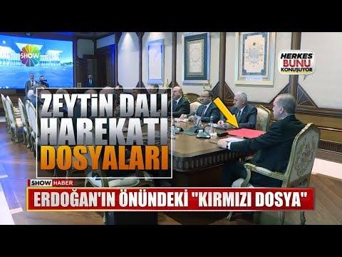 """Erdoğan'ın önündeki """"Kırmızı Dosya"""""""