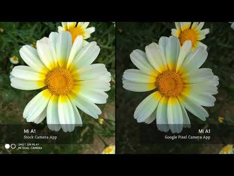 Mi A1 Photo Comparison | Stock Camera App Vs Google Pixel Camera App