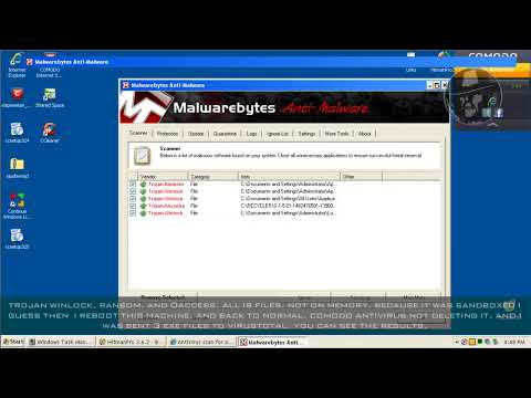 Comodo Internet Security 6 BETA 2 (Default settings) - Test with more links