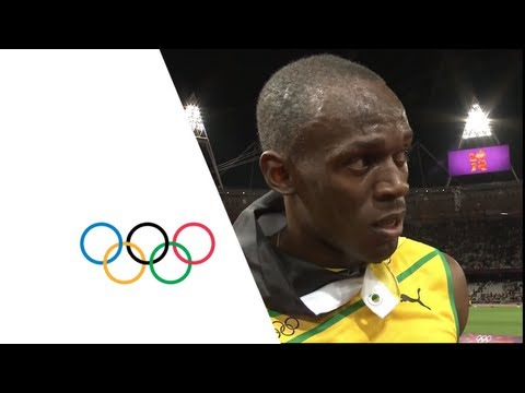 Usain Bolt Olympics 100m Final & Interview | Event Highlights - London 2012 Olympics