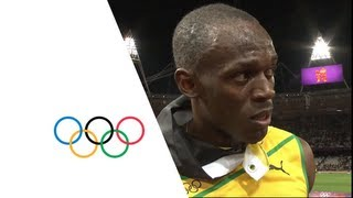 Athletics Men's 100m Final - Usain Bolt wins the Gold Medal - London 2012 Olympic Games Highlights