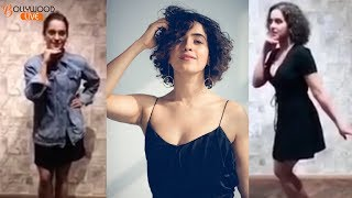 download lagu Sanya Malhotra Cute Dance On Mera Naam Chin Chin gratis