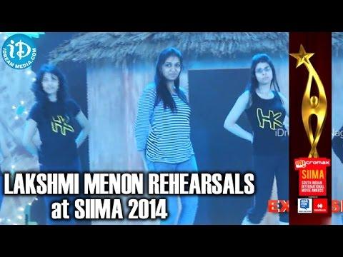 Actress Lakshmi Menon Dance Rehearsals @ SIIMA 2014, Malaysia