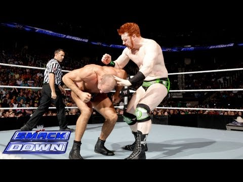 Sheamus vs. Antonio Cesaro: SmackDown, June 14, 2013