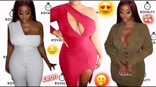 SEXY CURVY/PLUS SIZE PRETTY LITTLE THING/PLT TRY ON HAUL
