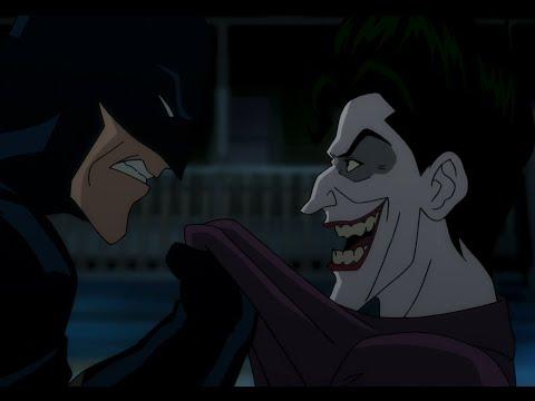 Убийственная Шутка : бой Бэтмена с Джокером