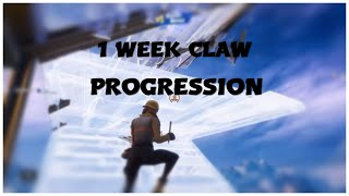 1 Week Progression Non Claw To Claw (Fortnite Chapter 2 Season 2)