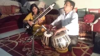 Bhairavi dhun n film songs  based on Bhairavi  rag  on sitar