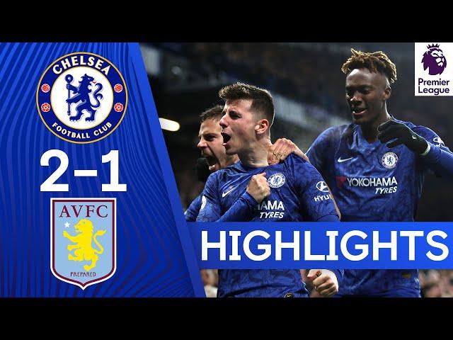 Chelsea 2-1 Aston Villa  Mount39s Stellar Volley amp Abraham39s Return Bring Home the Win!  Highlights