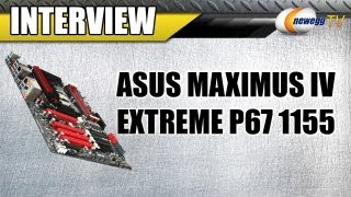 Newegg TV_ 5.2Ghz i7 2600K Overclock on ASUS Maximus IV Extreme P67 1155