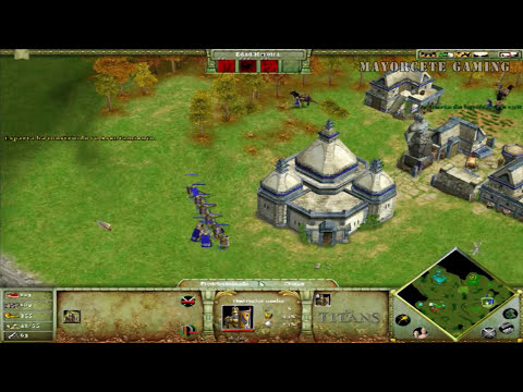 JUGANDO Age of Mythology -