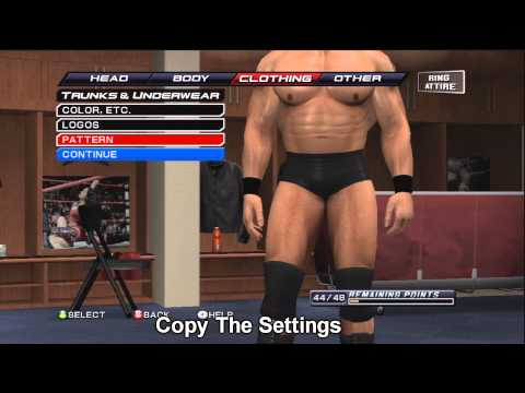 How To Make Brock Lesnar (UFC) On WWE Smackdown Vs Raw 2011 ( HD )