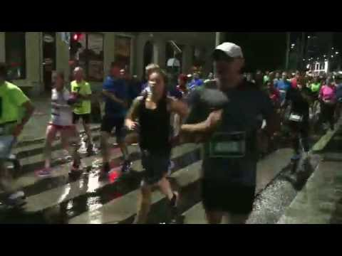 NIGHT MARATHON WROCLAW 2016 - Ca. 10,000 Runners