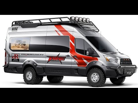 Ford Transit 4x4. Awd Camper. Expedition.