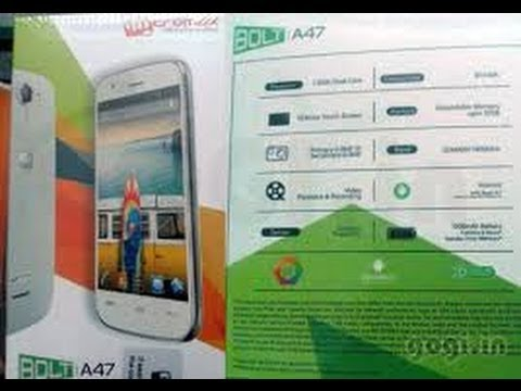 Micromax Bolt A47 full specification features & price
