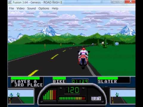 Misc Computer Games - Road Rash Ii - Arizona