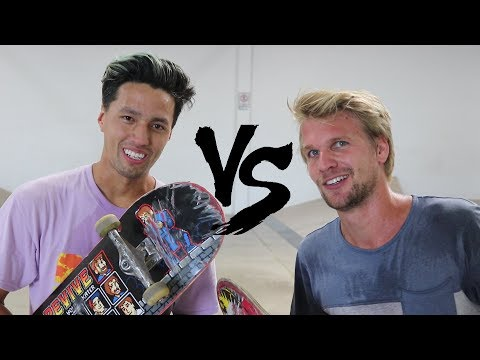 JOHN HILL VS FABIAN DOERIG S K A T E | BATTLE OF THE GREATS!