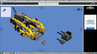 lego technic volvo l350f wheel loader 42030 instructions